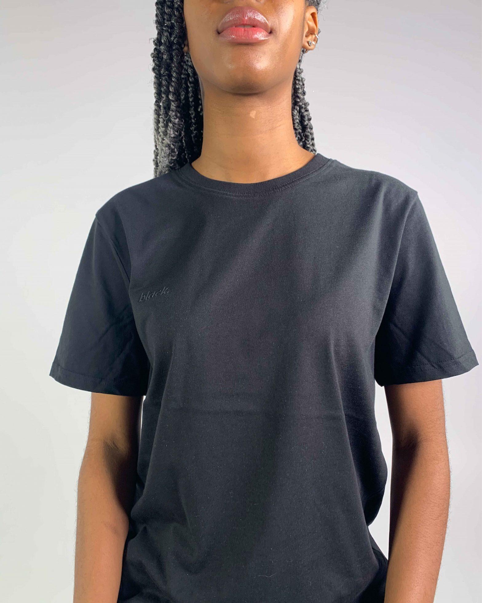 Organic T-shirt Black