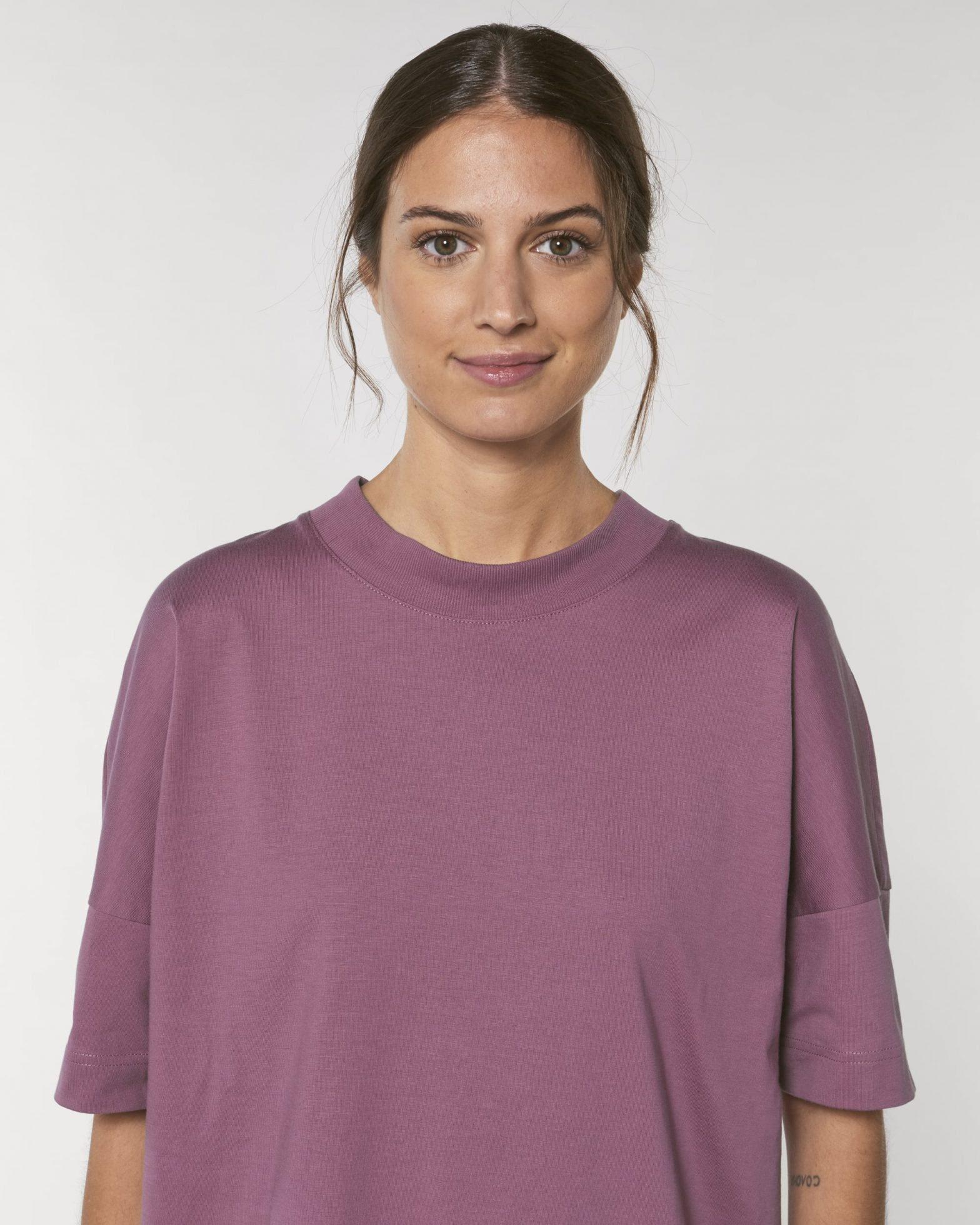 Sustainable T-shirt Purple