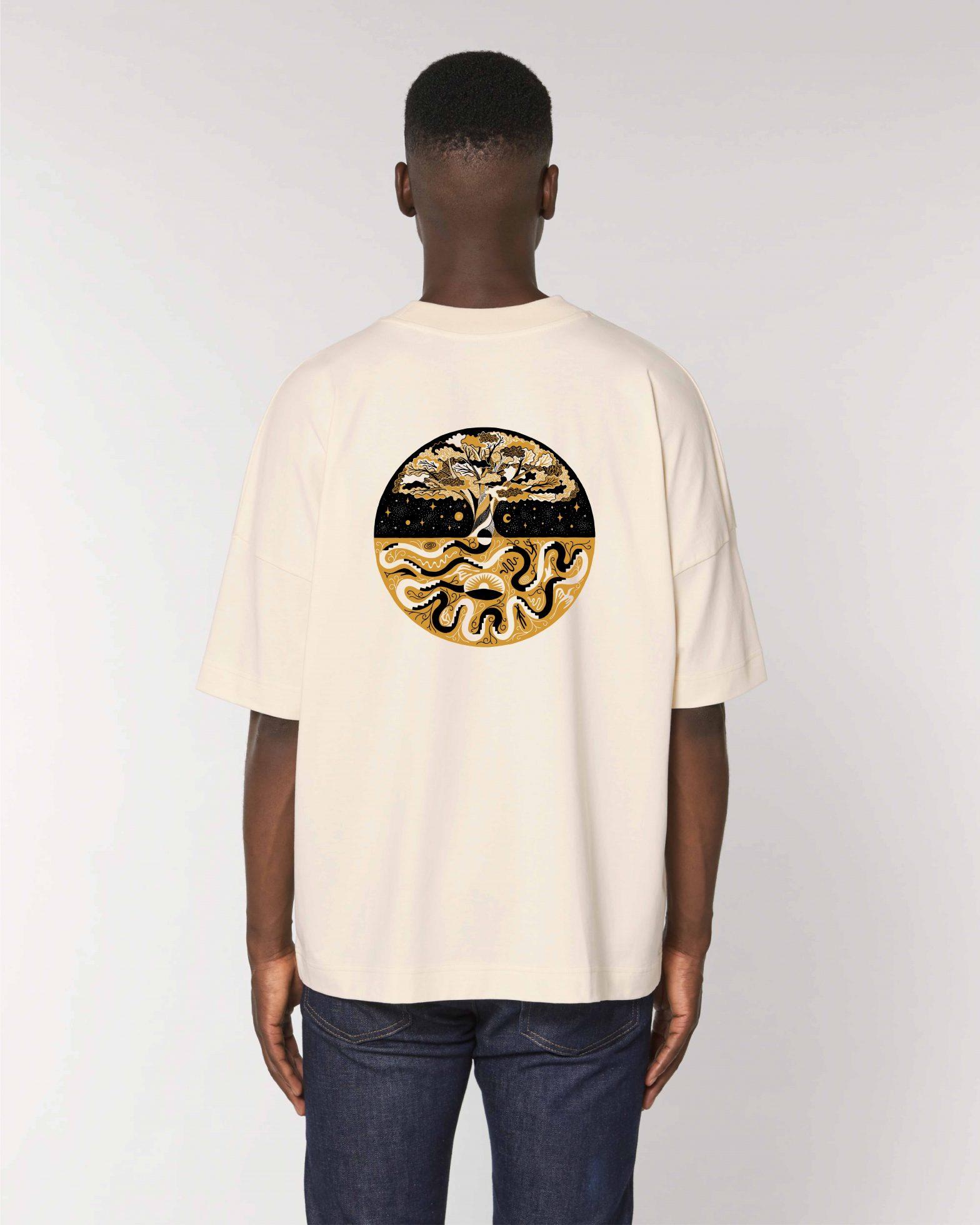 Organic Oversized T-shirt Ecru x R.J. Lechner