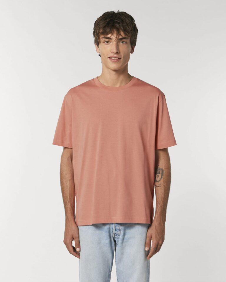 Organic T-shirt Rose