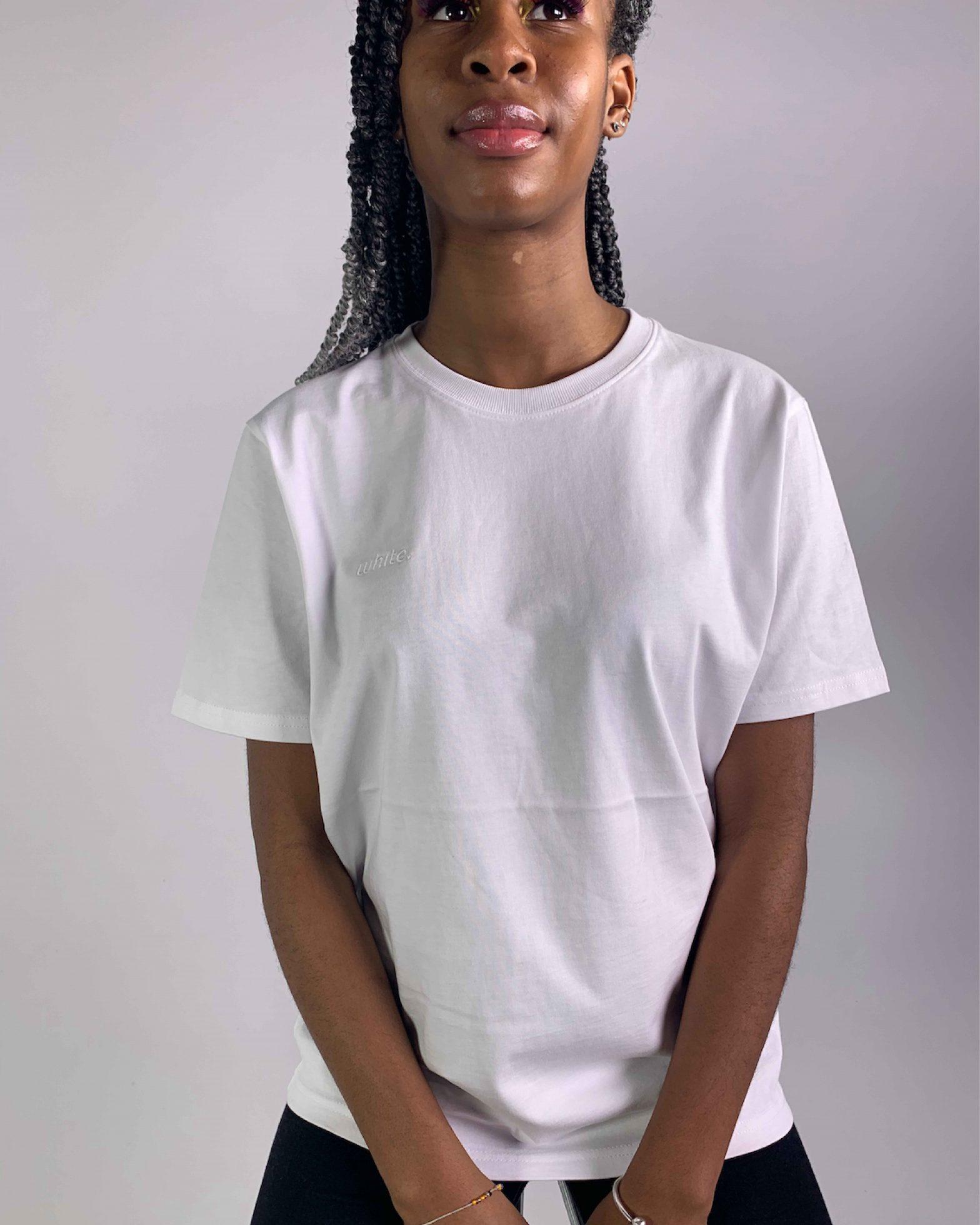 T-shirt Organic White